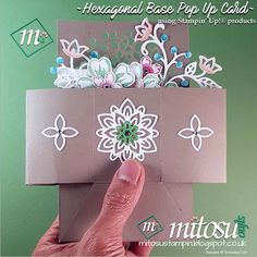 Check out Jay's Hexagonal Base Pop Up card for the Top 10 Winners of Kylie Bertucci's International Highlights blog hop.