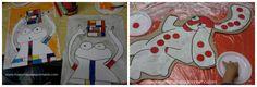 La Pimpa e Mondrian a misura di bambino!