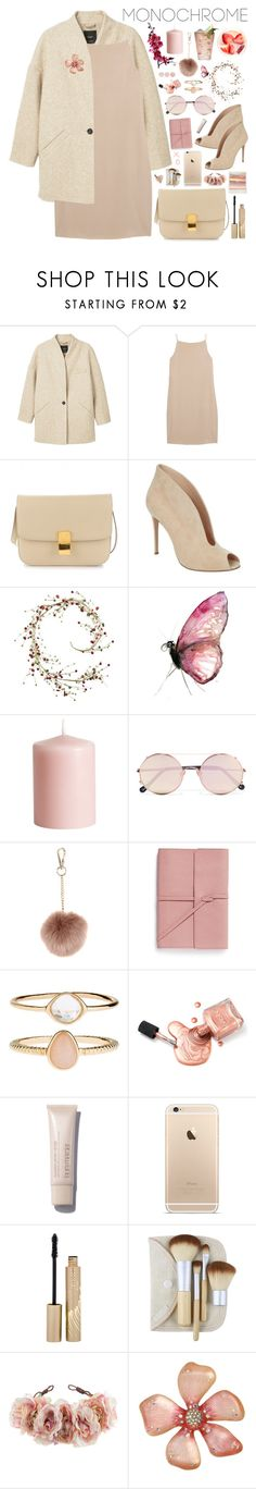 """2503. One Color, Head to Toe"" by chocolatepumma ❤ liked on Polyvore featuring MANGO, T By Alexander Wang, Gianvito Rossi, Margarita, Pier 1 Imports, H&M, Sunday Somewhere, Accessorize, Bynd Artisan and Stila"