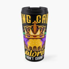 Cake Calories, Mardi Gras Parade, Party Drinks, Counting, New Orleans, Cool Designs, King, Mugs, Funny