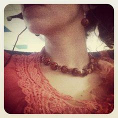 ladybird Crochet Necklace, Beauty, Jewelry, Fashion, Moda, Jewlery, Jewerly, Fashion Styles, Schmuck