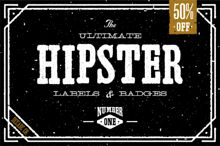Check out The Ultimate Hipster Labels & Badges by Decade Type Foundry on Creative Market Typography Letters, Graphic Design Typography, Hand Lettering, Eagle Vector, 404 Pages, Drop Cap, Custom Fonts, How To Make Beer, Logos