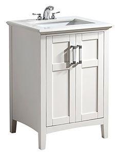 Simpli Home NL-WINSTON-WH-24-2A 1-Pack Winston Collection Bath Vanity, 24-Inch, White Simpli Home http://smile.amazon.com/dp/B00CXMELFI/ref=cm_sw_r_pi_dp_x0o9ub1CEG8M6