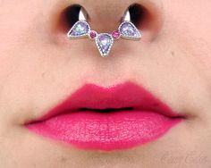Cherry Colors - Cosmetics Heaven!: Septums can be super fun and cute