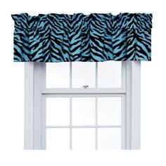 "Zebra 88"" Curtain Valance"
