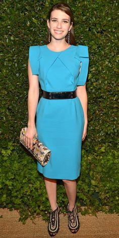 Emma Roberts in Prabal Gurung Emma Roberts Style 4341af810