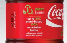 Dit is MVO omdat het goed is voor het mileu en goed voor de planeet je kunt het recyclen en de fles is 30% van planten basis gemaakt. Zo trekt Coca Cola ook de doelgroep aan voor mensen dit alleen producten kopen die goed zijn voor het mileu
