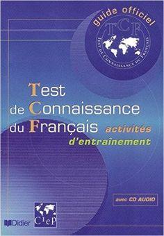 Test de connaissance du Français (TCF) (livre  cd audio) Cd Audio, Love Languages, Teaching French, Learn French, French Language, Free Ebooks, Grammar, Web Design, Knowledge