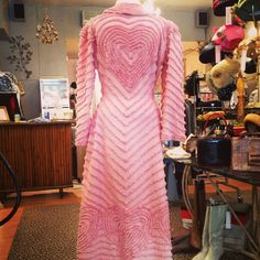 Via xtabayvintage: radiating heart chenille robe, 1930s - $148