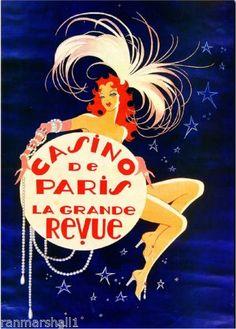 Casino-de-Paris-France-French-Vintage-European-Travel-Art-Poster-Advertisement