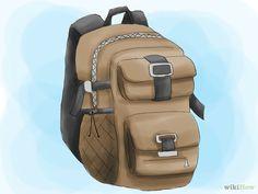 Imagem intitulada Pack a Hiking Backpack Step 01