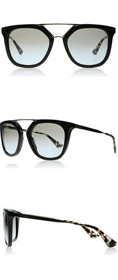 f152c199c5 Prada DHO4S2 Brown   Gold   Tortoise 13QS Wayfarer Sunglasses Lens Category  2 S Women s Sunglasses