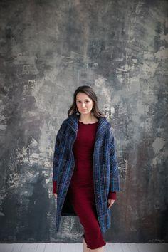 Пальто-жакет, удлиненный (с утеплителем)