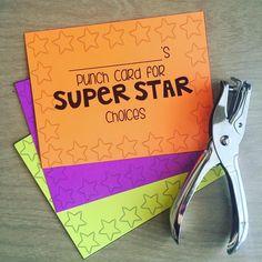 These punch cards were fantastic for rewarding positive behavior! Wehellip