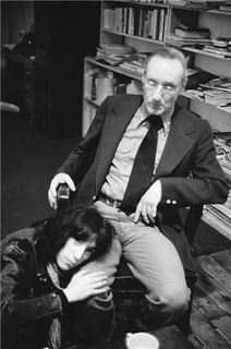 William Burroughs & Patti Smith