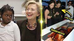 "►► Hillary Clinton ""cocina ESPÍRITUS"" en SECTAS SATÁNICAS y redes de PED..."