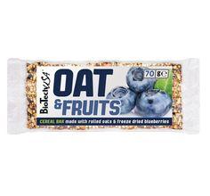 Debido a su contenido de avena, estas barritas aportan carbohidratos de digestión lenta. Los trozos de fruta añaden fructosa a los ingredientes.
