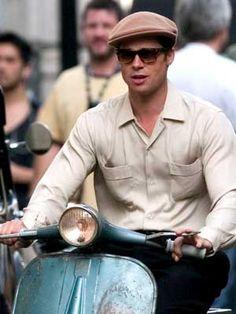 actor Tyler Durden, Film World, Jolie Pitt, Actor Studio, Celebrity Gallery, Newsboy Cap, Brad Pitt, Actors & Actresses, Dads