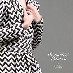 NUBBE CLOTHES #FW17-18 | GEOMETRIC PATTERN  Los #motivos #geométricos parece que nunca pasan de moda, y este #otoño-invierno vuelven a ser #tendencia.  #FW17 #moda #fashion #geometricpattern #geometric #pattern #zigzag
