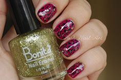 Posh Nail Art: RETO 2013 - Week 8 - Inspired by a color