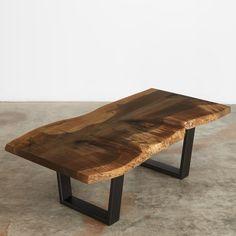 #UrbanHardwoods ebonized maple coffee table #SalvagedWood