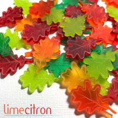Mini acrylic leaves in store now : http://limecitron.com