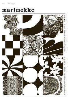 Marimekko. Pattern grid