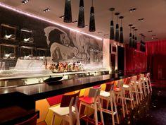 The Cosmopolitan in Las Vegas. Location: Las Vegas Boulevard South, Las Vegas, US; firm: Rockwell Group; type commercial: Hospitality + Sport, Bar/Nightclub Hotel; year: 2010
