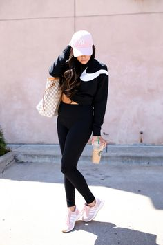 emily gemma, the sweetest thing blog, nordstorm anniversary sale 2017 fitness, adidas iniki pink shoes, louis vuitton neverfull GM, cute workout outfits, hiphop dance class tulsa ok-9