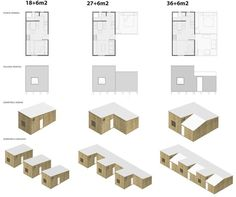 "Repensando la tradicional ""Mediagua"": NOA 18+6, vivienda de emergencia autoprogresiva   Plataforma Arquitectura"