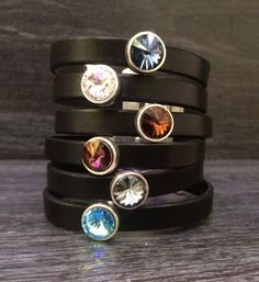 Swarovski Pulseras pulsera de cristal de por KuentaAlKuadrado