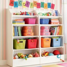 Better play room storage