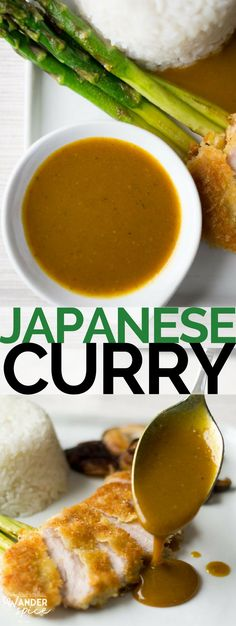 A velvety and luxe condiment, Japanese Curry is a delicate but flavorful and perfect over rice, noodles or pork.A velvety and luxe condiment, Japanese Curry is a delicate but flavorful and perfect over rice, noodles or pork. Curry Recipes, Sauce Recipes, Asian Recipes, Chicken Recipes, Cooking Recipes, Ethnic Recipes, Cooking Tips, Cooking For Three, Japanese Food