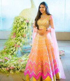 Sandeep Khosla bride # lehenga # bridal wear # Indian brides