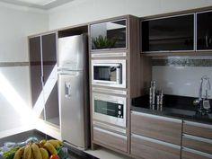 cozinha planejada marrom - Pesquisa Google