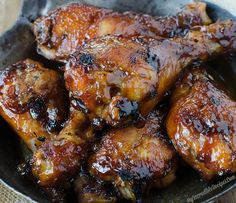 Sticky Sweet Bacon Glazed Chicken in the Crock Pot!