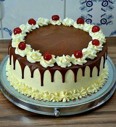 Cake Decorating Piping, Creative Cake Decorating, Cake Decorating Videos, Cake Decorating Techniques, Creative Cakes, Fancy Cakes, Cute Cakes, Yummy Cakes, Gateau Aux Oreos