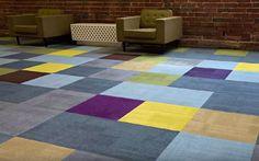 VoxShapes to nowatorska koncepcja wykładzin dywanowych, dostępnych w płytkach o różnych kształtach   Fot. Voxflor, dystr. FloorMarket.pl