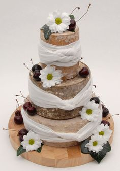The growing trend for cheese wedding cakes - Yahoo! Lifestyle UK