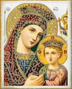 Santa María, Madre de Dios y Madre nuestra: ¡Salve, oh Vos, por Quién la Creación es renovada!...