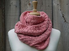 Ravelry: Cherry Blossoms Cowl pattern by Assorted Musings