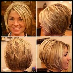 Here are 15 astonishing short bob haircuts for pretty women, from Short-Haircut: The long bob hairstyle is getting more and more popular among women including celebrities. Bob hairstyles are great…More Bob Haircuts For Women, Short Bob Haircuts, Long Bob Hairstyles, Stacked Bob Hairstyles, Hairstyles 2016, Haircuts For Fat Faces, Short Hair Cuts For Women Bob, Short Bob Cuts, Summer Haircuts