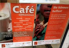 Ma(h)lt sich in diesem Kopf die Welt: #refugees Cafe nun auch in Lu WEST