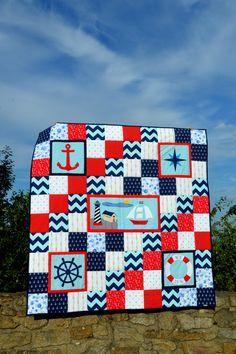 námořnická deka; nautical quilt