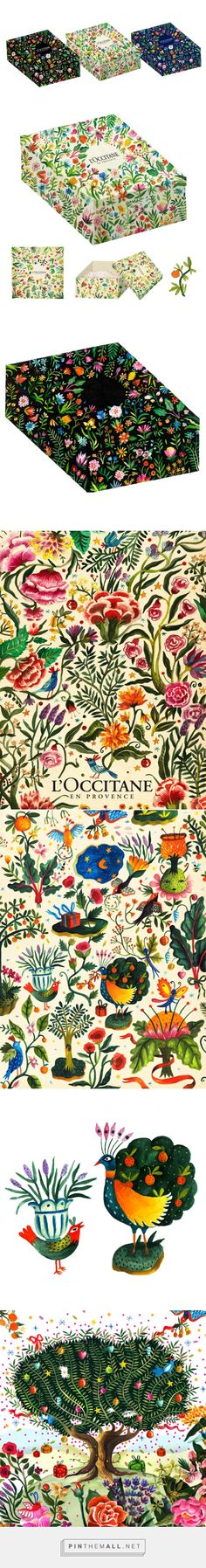 Sketches for L'Occitane on Behance created Aitch curated by Packaging Diva PD. I love these packaging design sketches. Too bad we won't get to see them for real : (