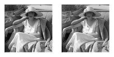 Lartigue+Racecourse+at+Nice | Lartigue's wife Bibi in the family Hispano-Suiza