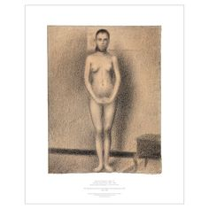 "Georges Seurat: Study for ""Models""; Print 