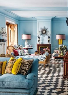 Fashion designer Jorge Vazquez's Madrid Home - The Neo-Trad
