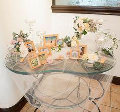 ♡ウェルカムスペースは〔チュールを敷く〕のがポイント   marry[マリー] Tree Wedding, Wedding Flowers, Table Decorations, Space, Furniture, Home Decor, Weddings, Wedding, Floor Space