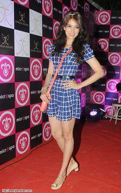 Vidya Malvade In Short Frock at Bollywood Beauties In Hot Short Frocks